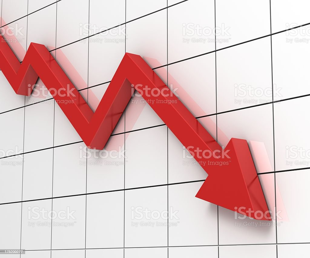 recession stock photo