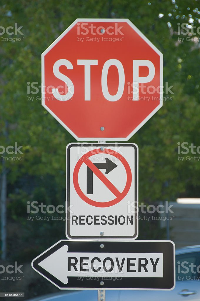 Recession - Recovery royalty-free stock photo