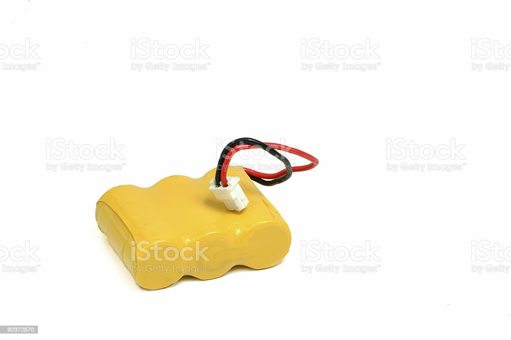 Rechargeable Battery of phone royalty-free stock photo