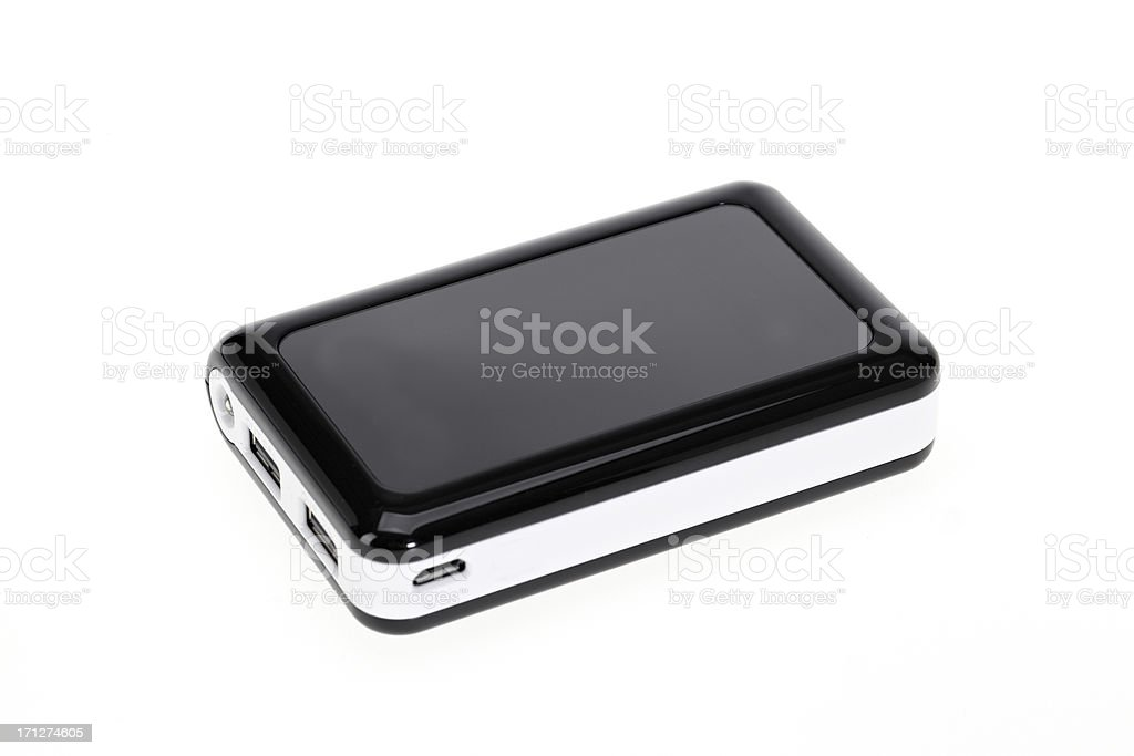 Re-chargeable external battery royalty-free stock photo