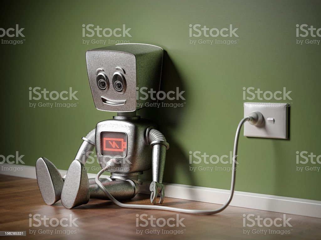 Recharging stock photo