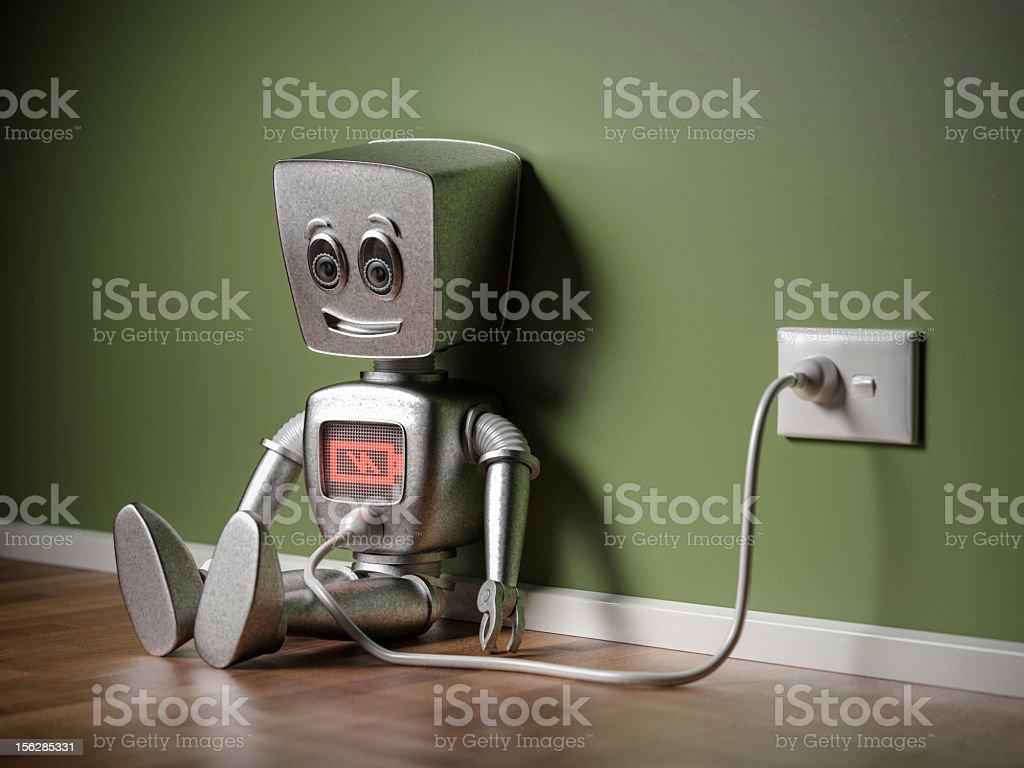 Recharging stock photo