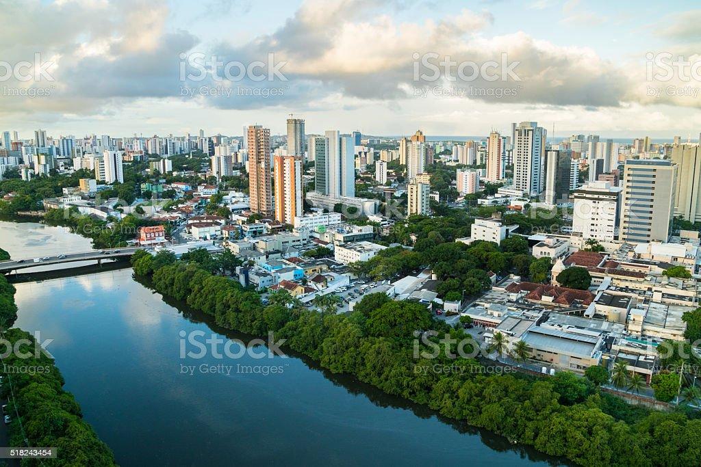 Recife city stock photo