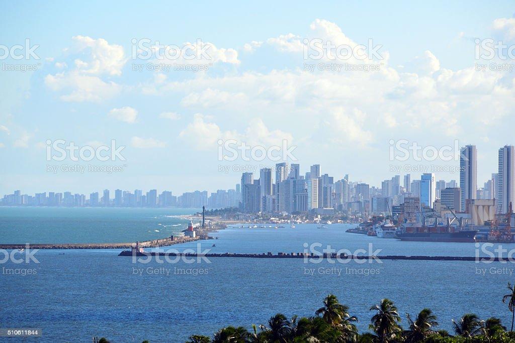 Recife skyline, Pernambuco, Brazil stock photo