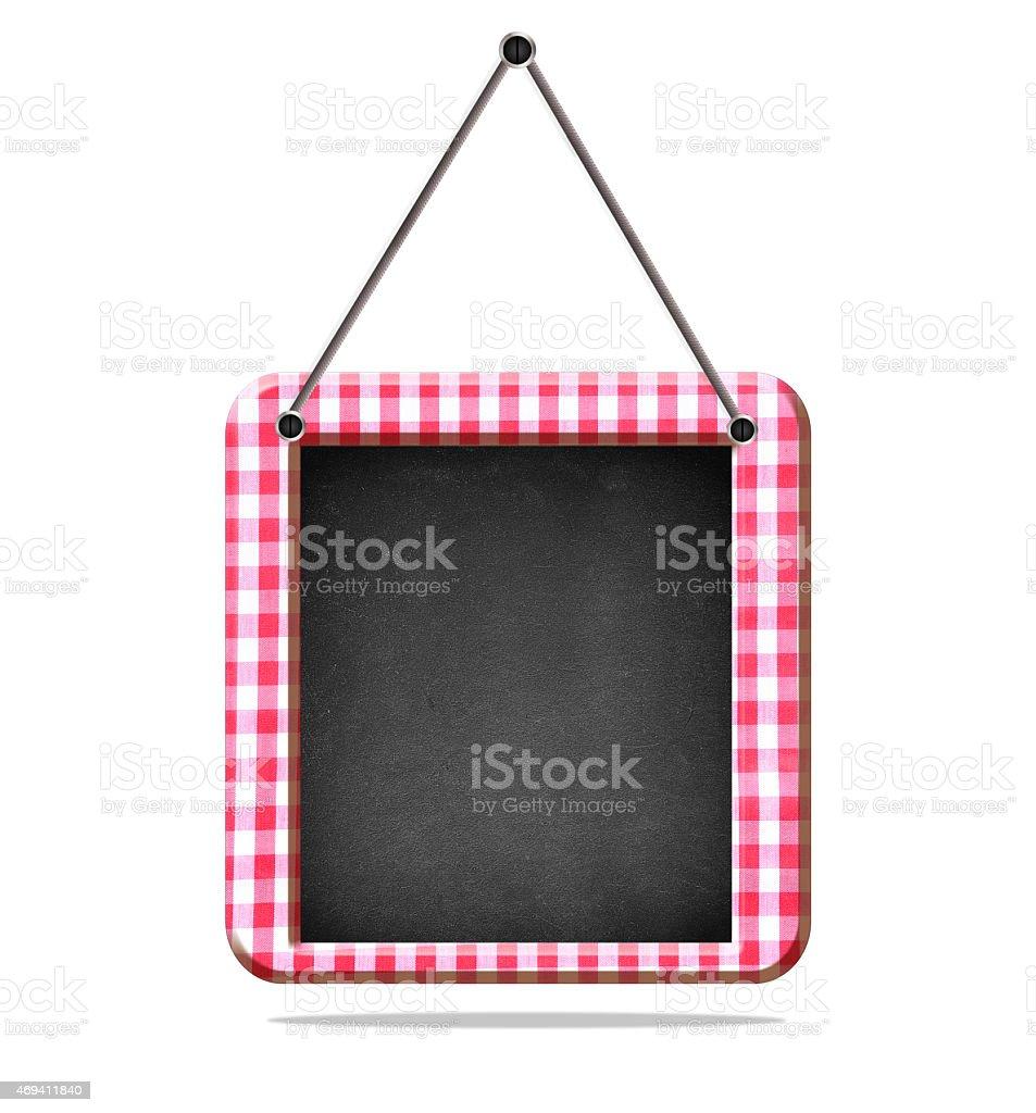 Recipe board. stock photo