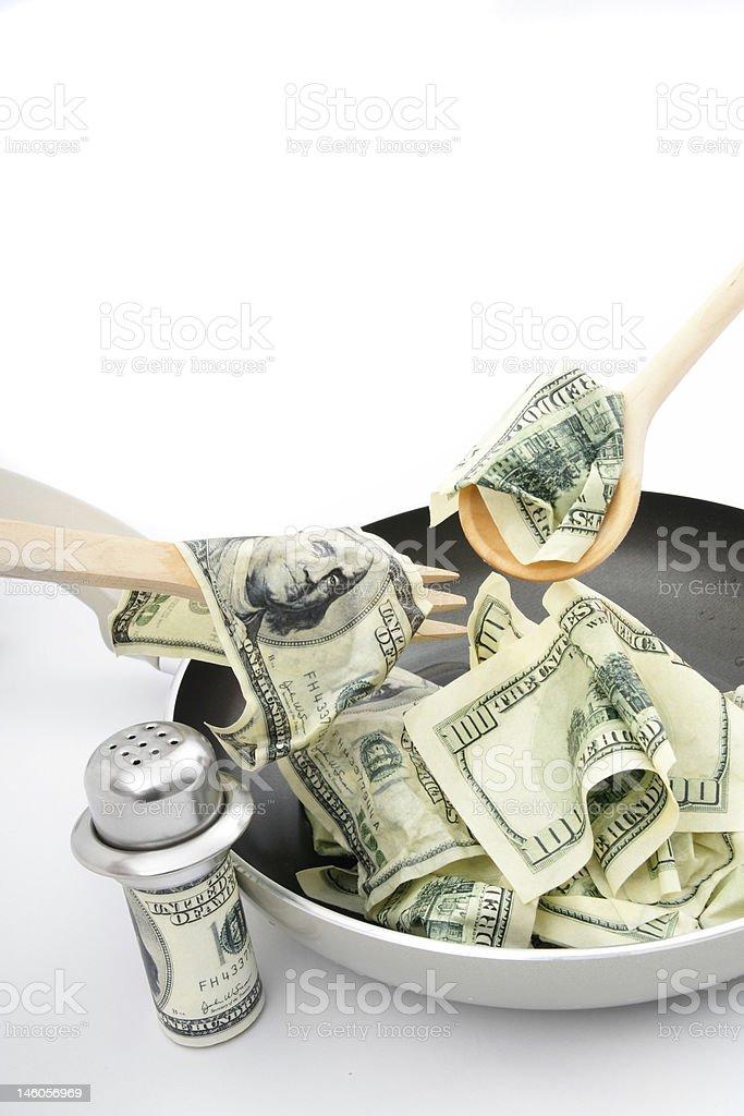 recipe for success stock photo