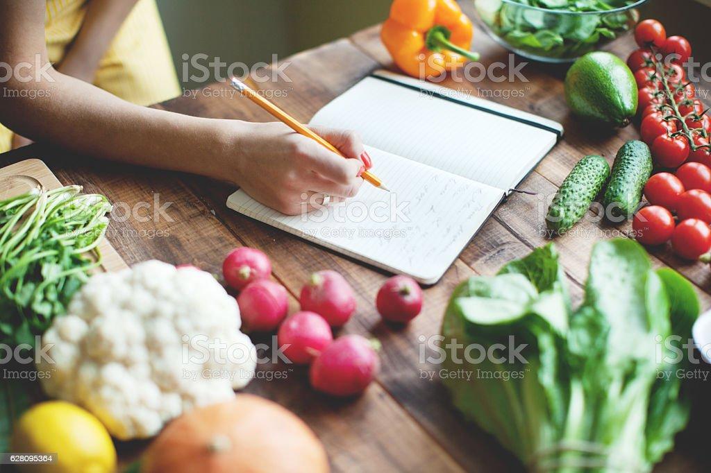 Recipe stock photo
