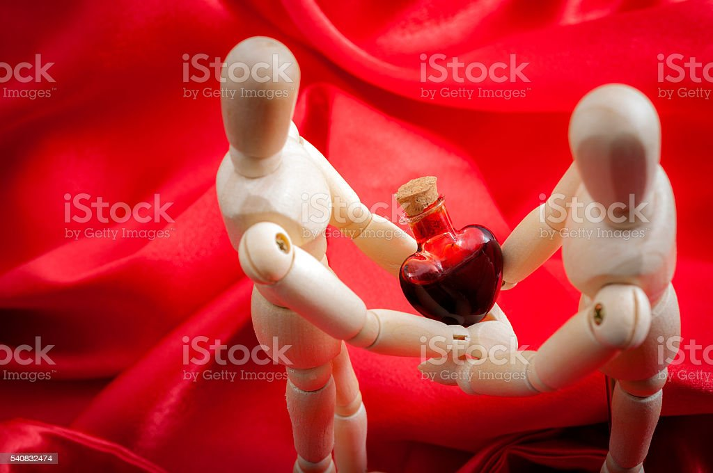 Reciprocated love stock photo