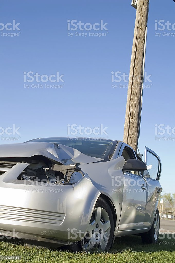 Reckless Driver stock photo