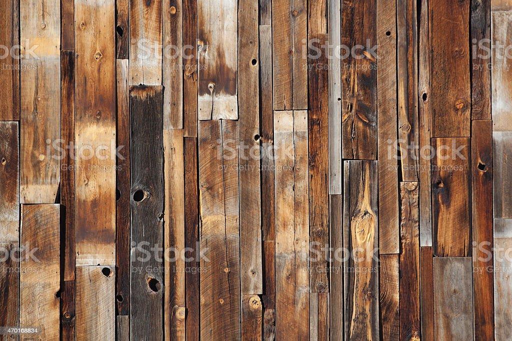 Reclaimed Wood stock photo