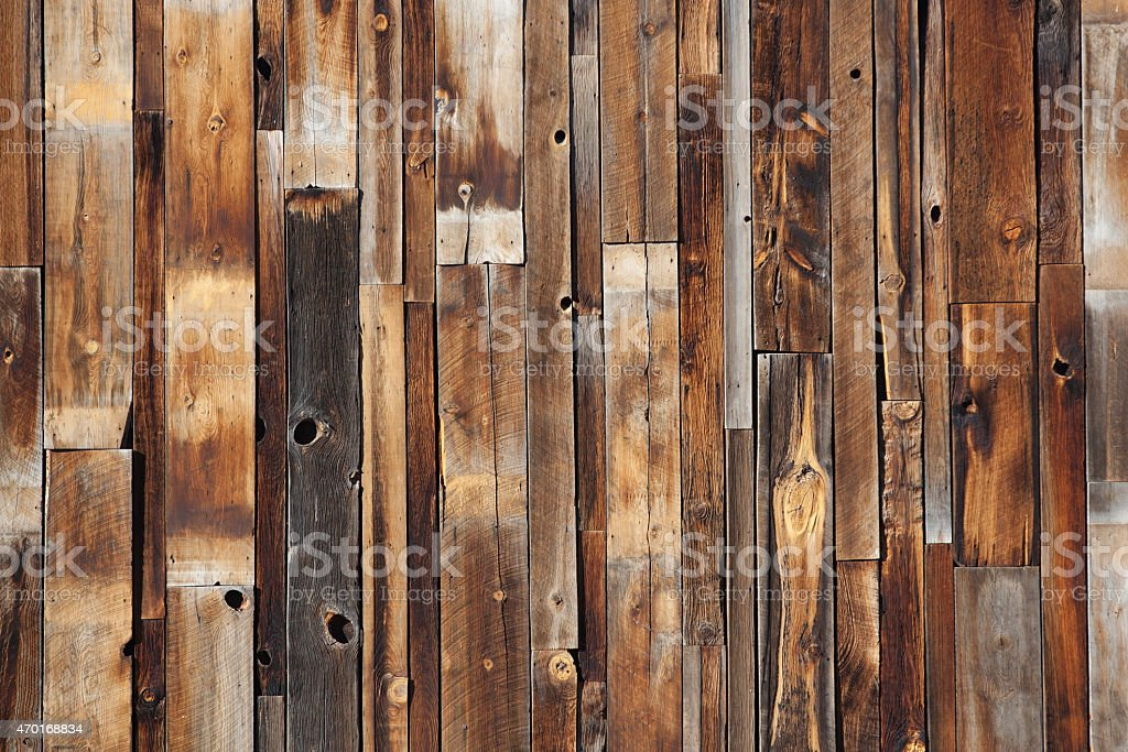 Reclaimed Wood stock photo