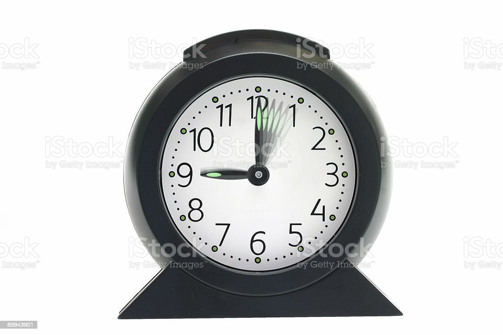 Reclaiming time royalty-free stock photo