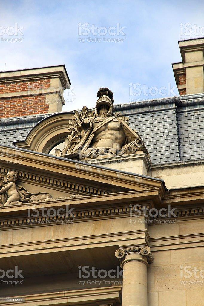 Reclining Ornament royalty-free stock photo