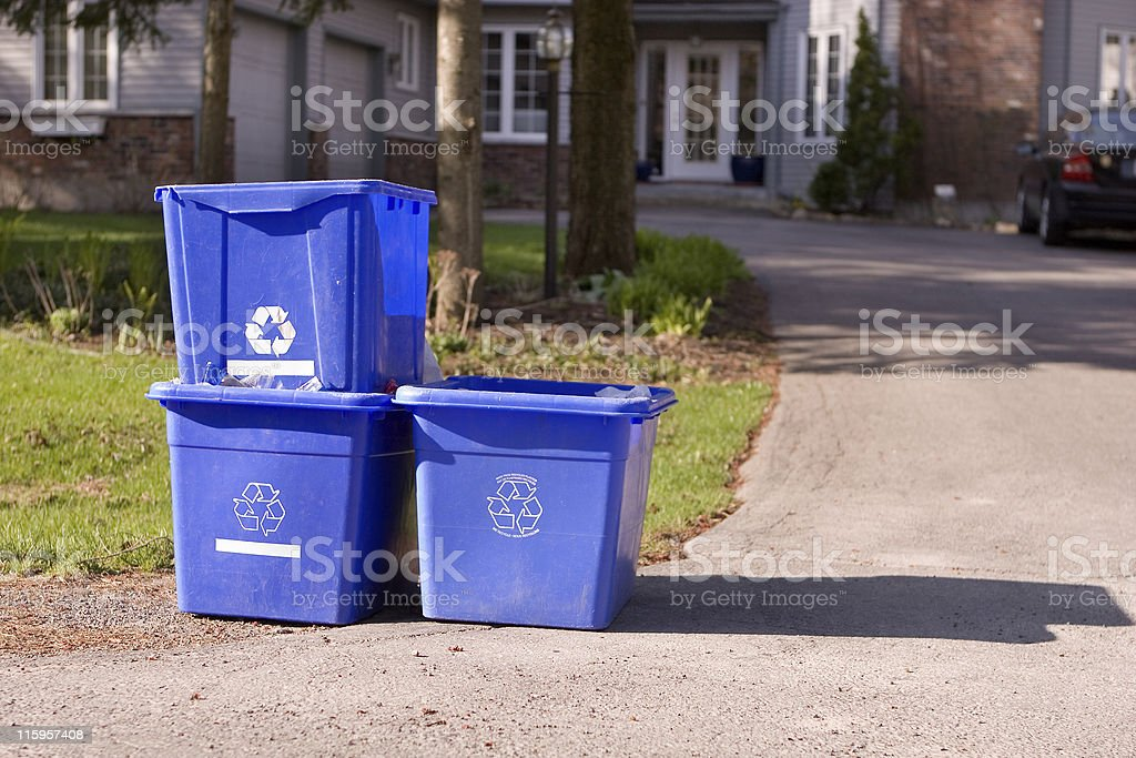 Reclycling stock photo