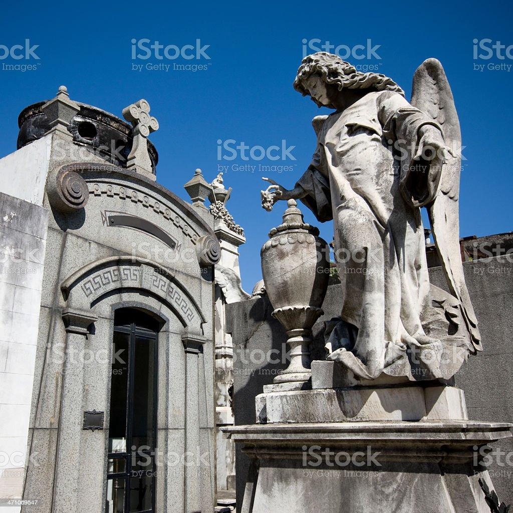 Recoleta Cemetary Buenos Aires royalty-free stock photo