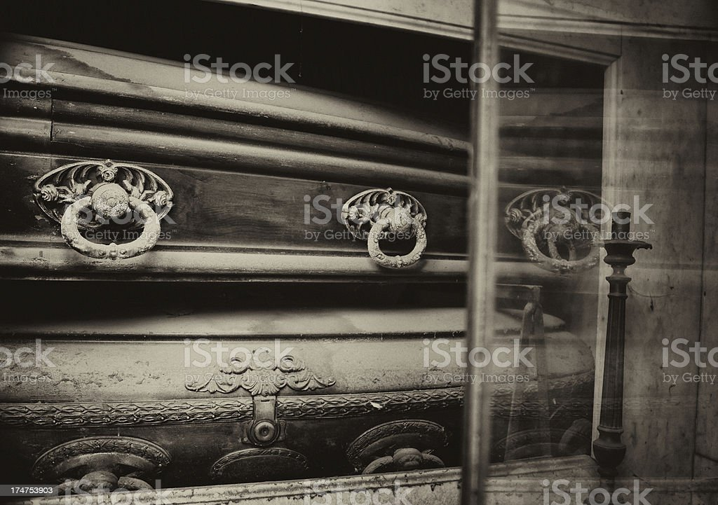 Recoleta Cemetery royalty-free stock photo