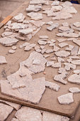 Reconstruction of Tiles at Archeological Site in Turkey