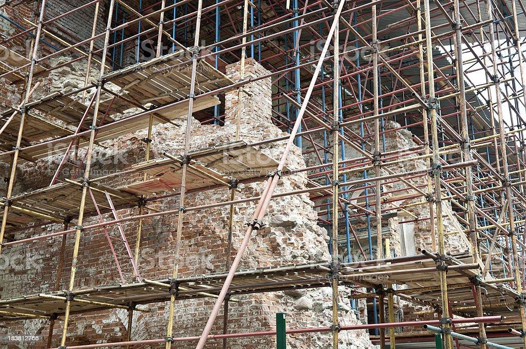 Reconstruction stock photo