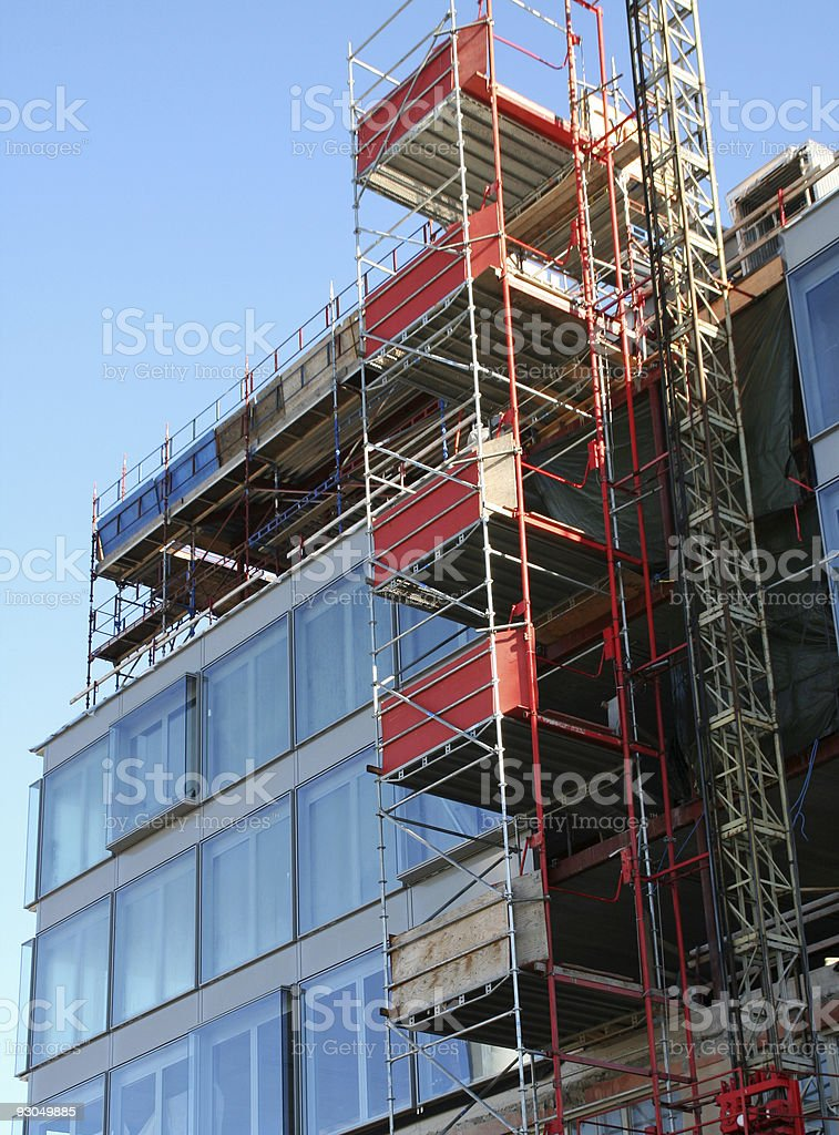 Reconstruction royalty-free stock photo