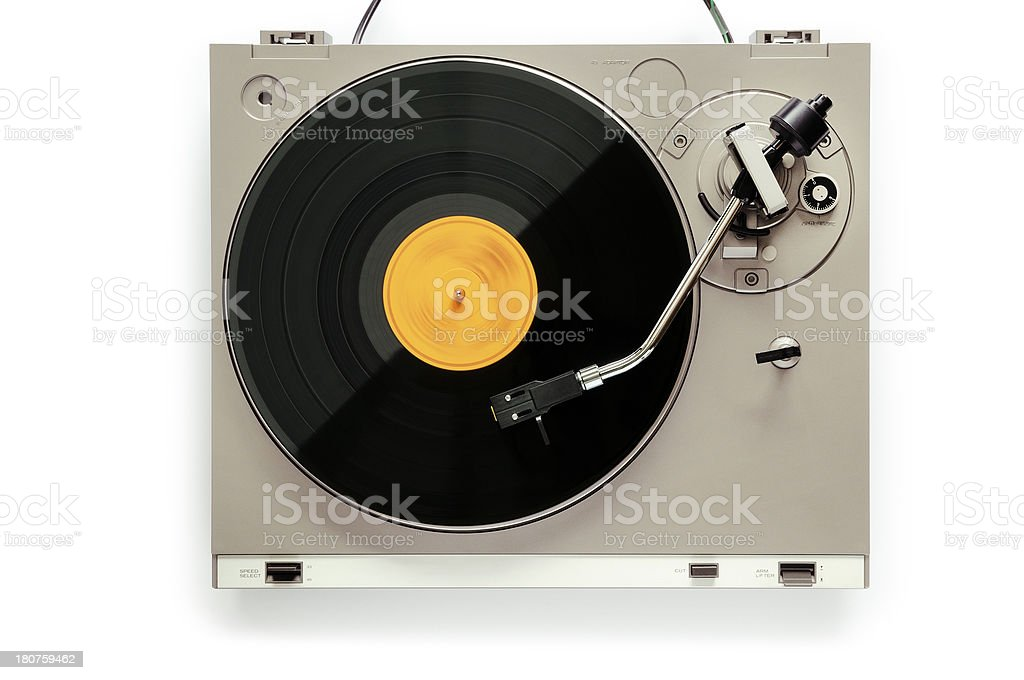 Record royalty-free stock photo