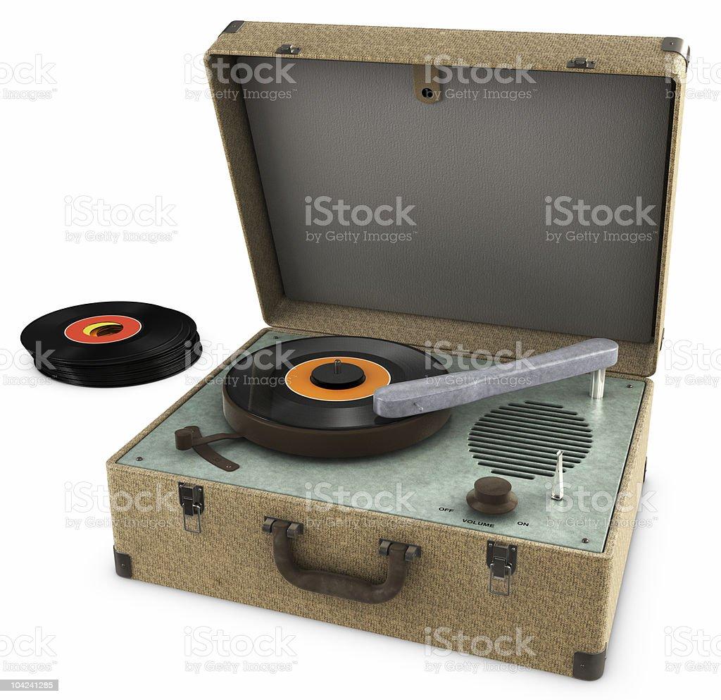 Record Player stock photo