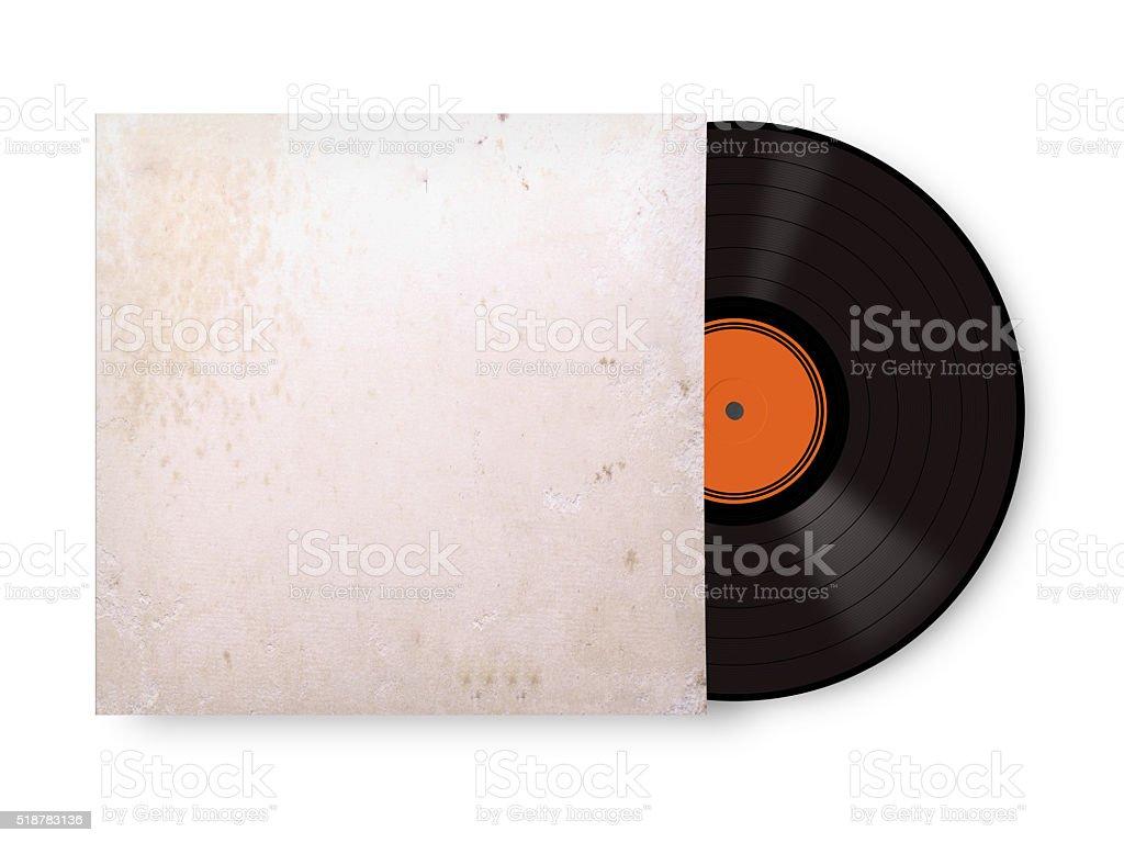 record vinyl stock photo
