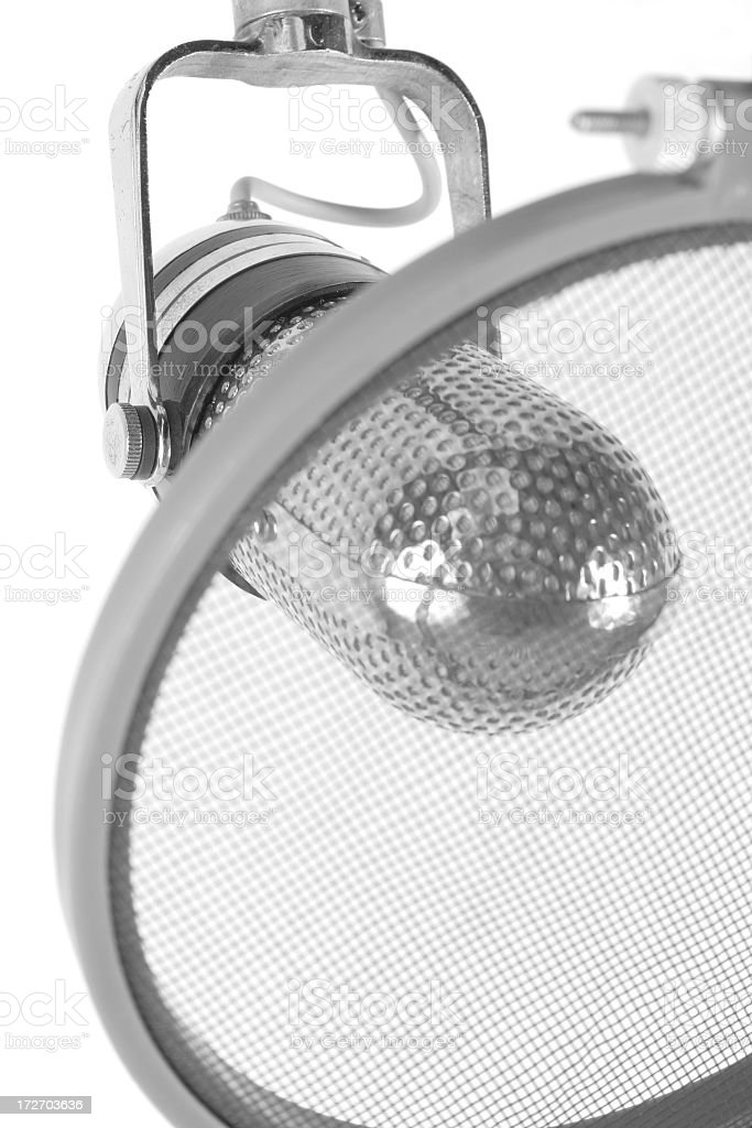 Recording microphone stock photo