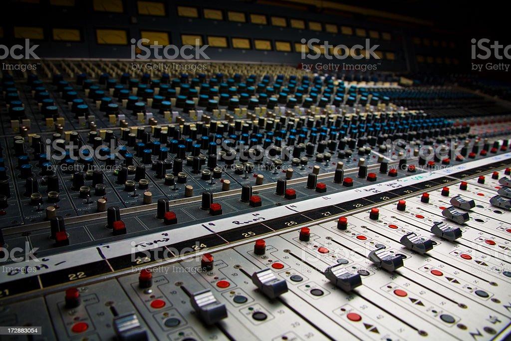 Recording stock photo