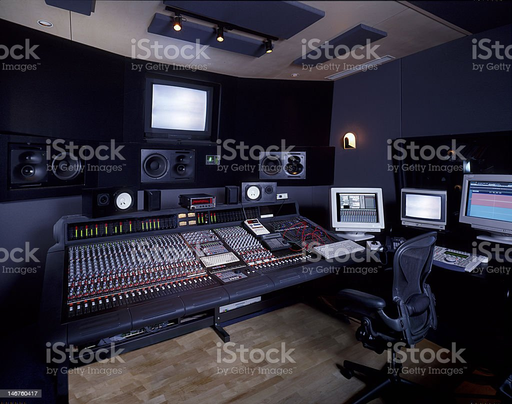 Recording Studio Suite stock photo