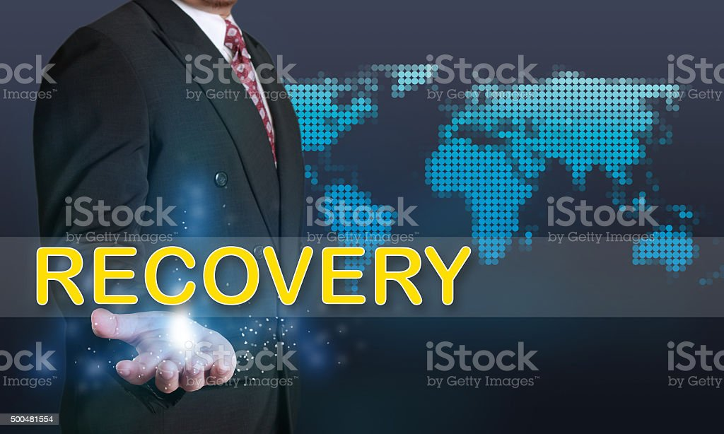Recovery Business, Concept stock photo