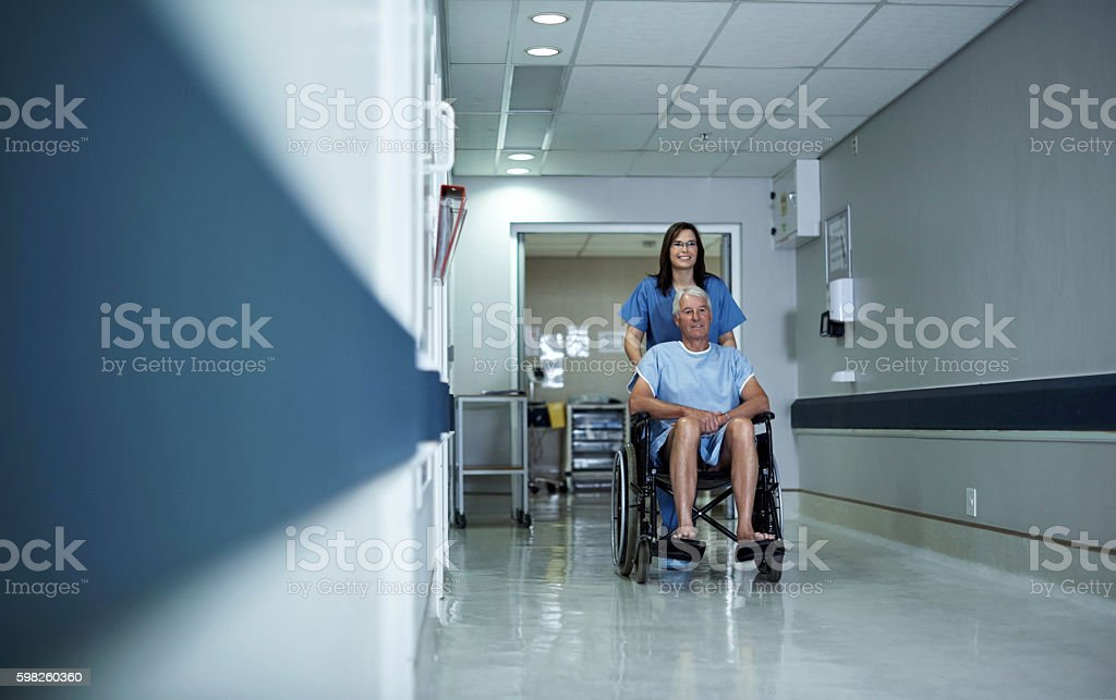 Recovery can be a long process stock photo