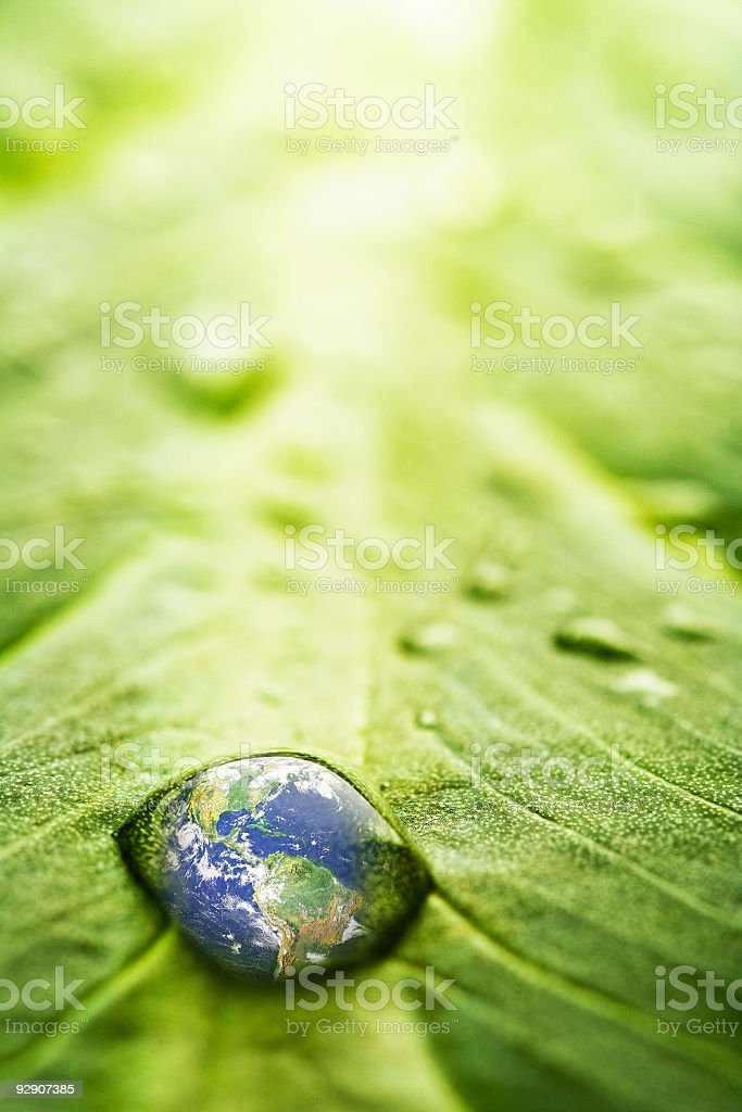 Recovery - earth concept stock photo