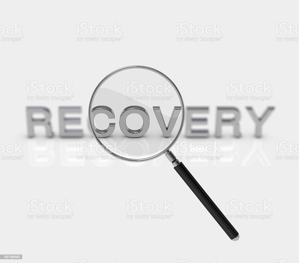 Recovery royalty-free stock vector art