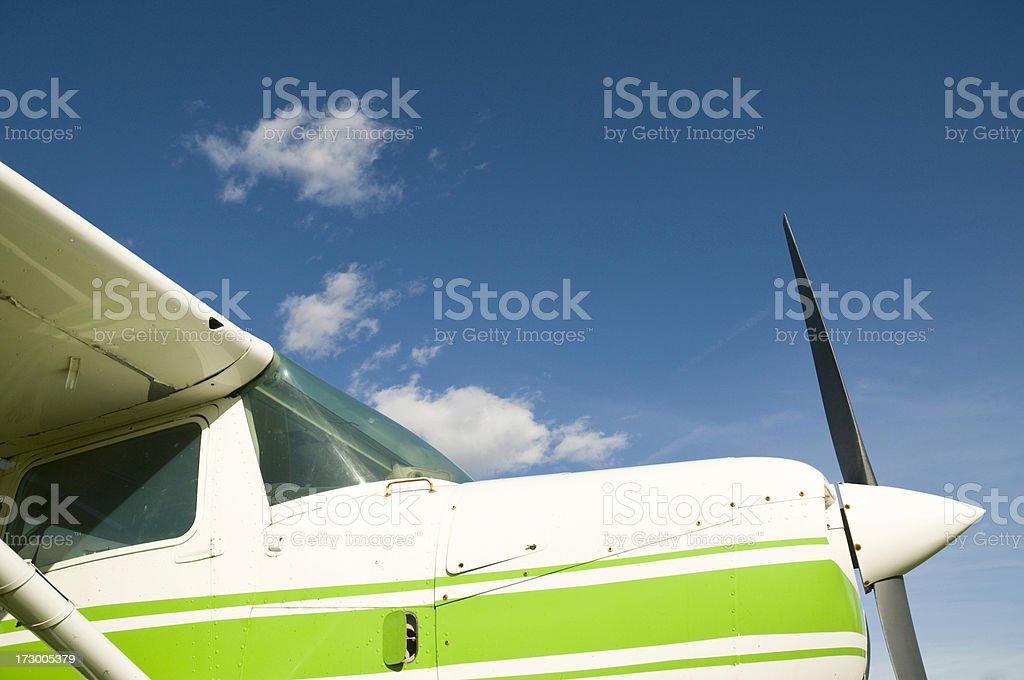 Recreation airplane royalty-free stock photo
