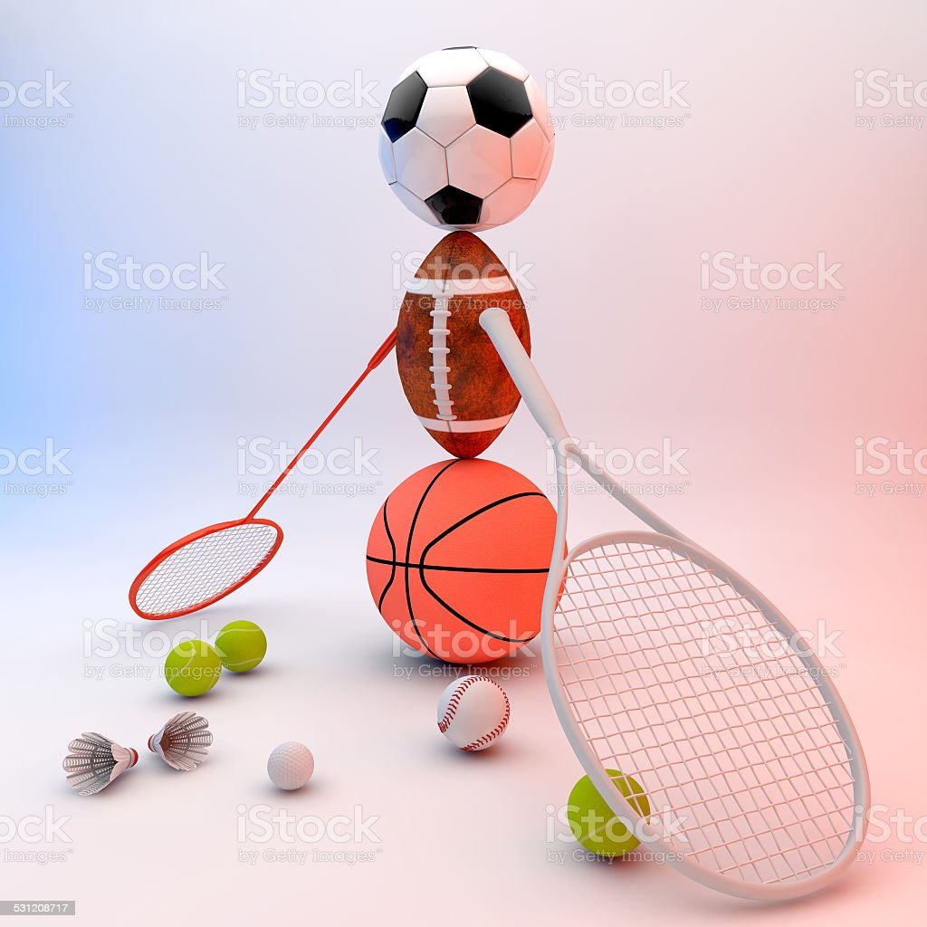 Recreation leisure sports equipment stock photo