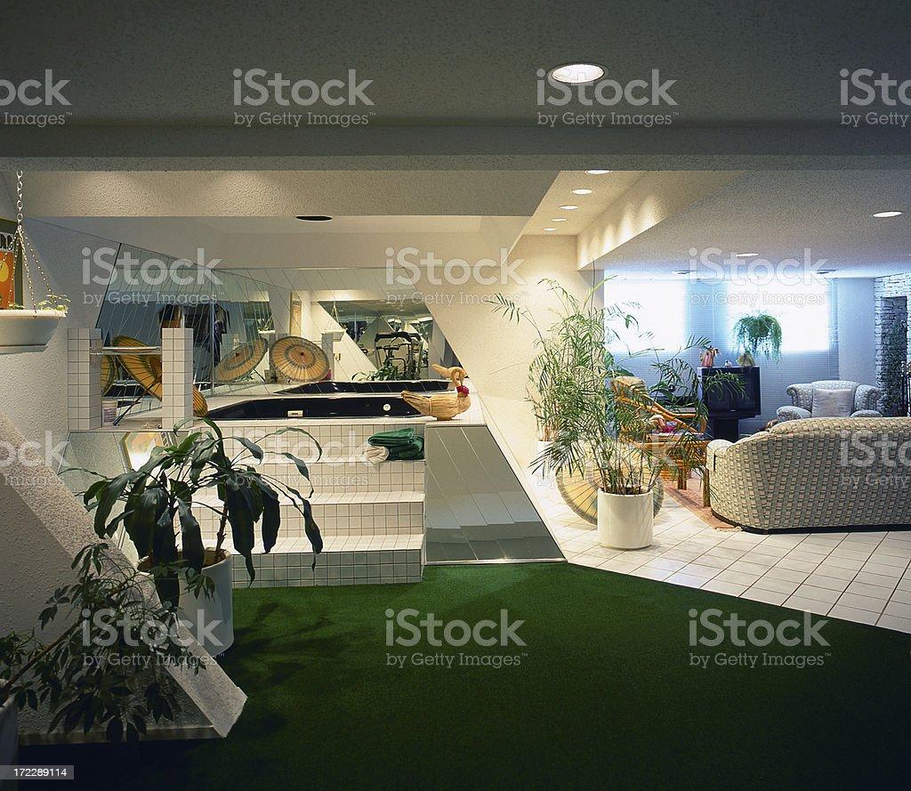 Recreation Room stock photo