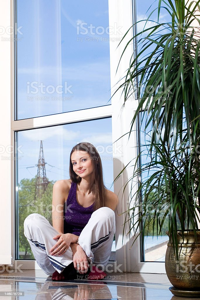 recreation woman royalty-free stock photo