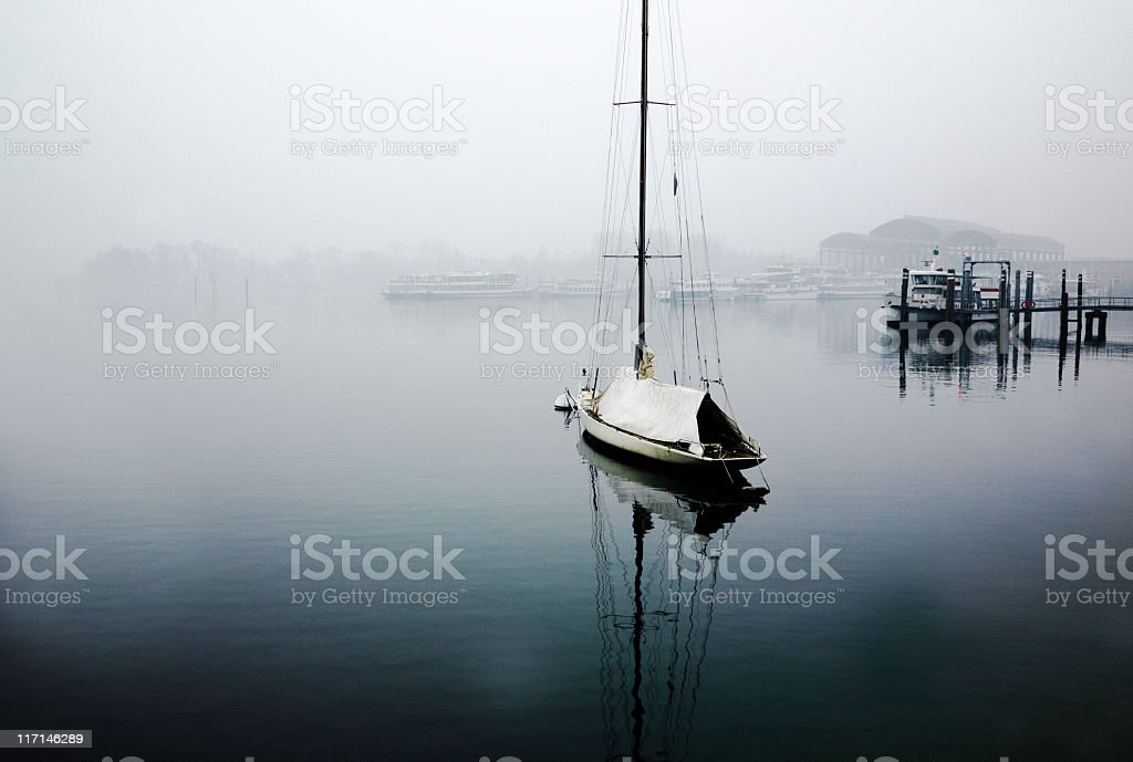 Recreational Boat. Color Image stock photo