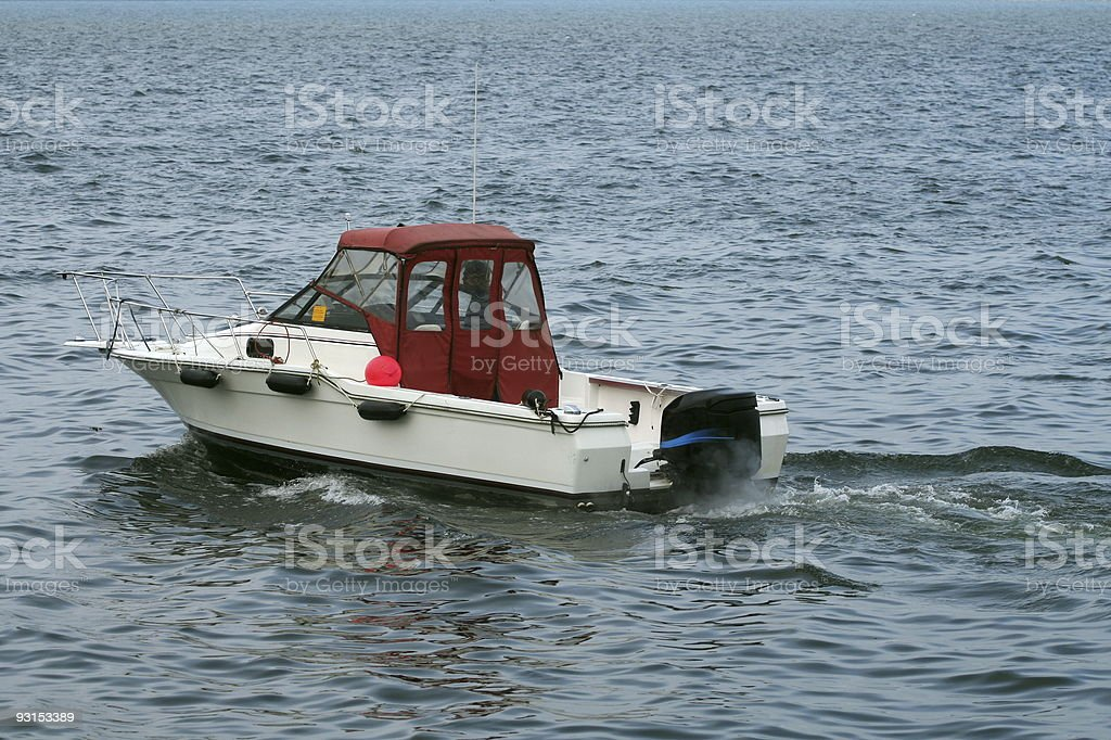 Recreational Boat royalty-free stock photo
