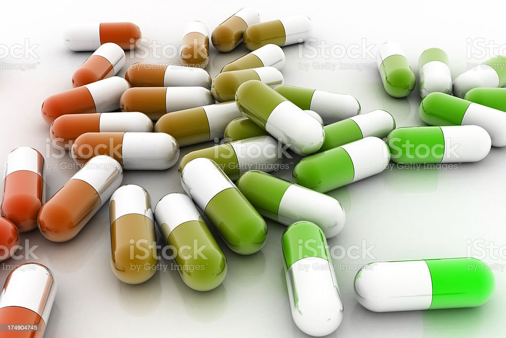 Recreational Drugs royalty-free stock photo