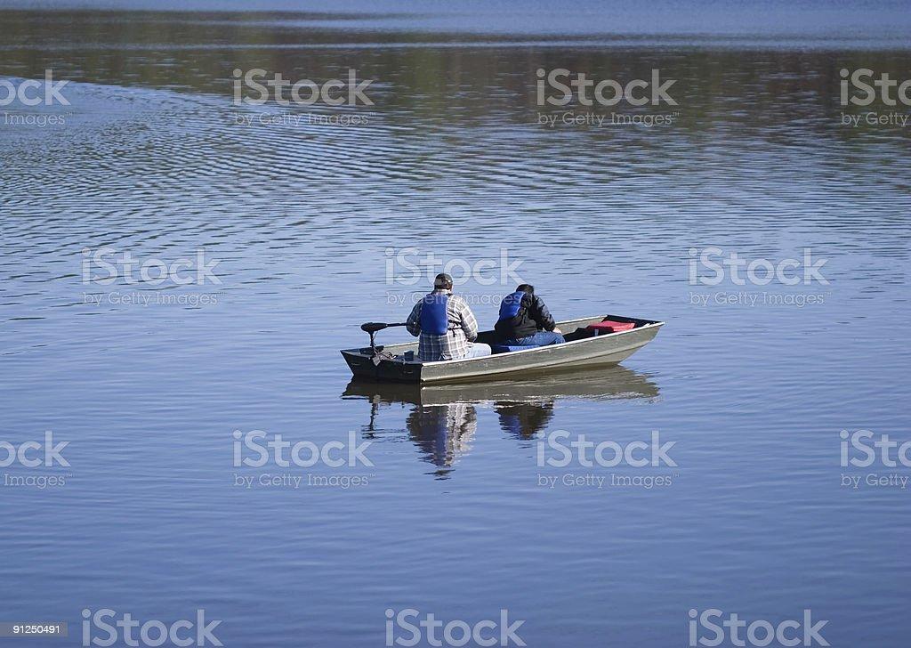Recreational Fishing stock photo