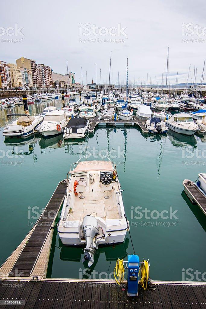Recreational Port stock photo