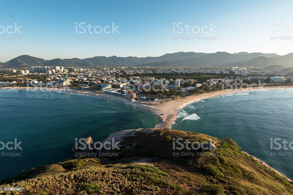 Recreio Region in Rio stock photo