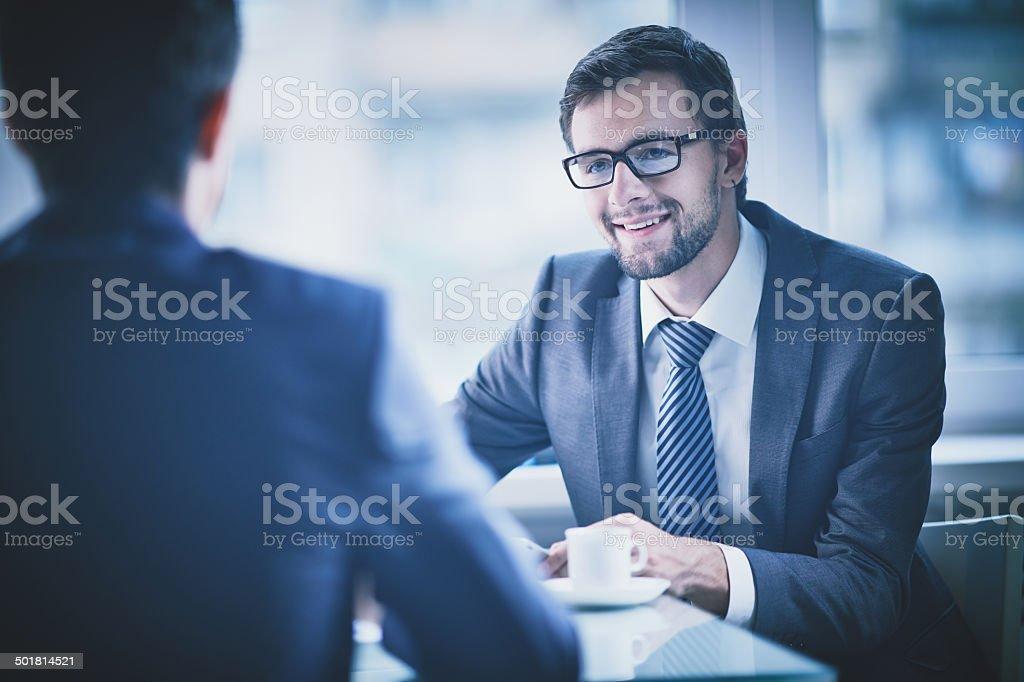 Recruiting stock photo