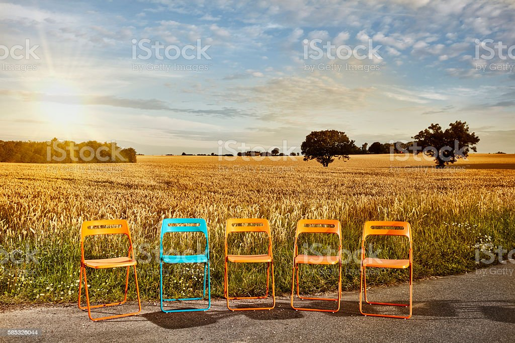Recruitment for agriculture stock photo