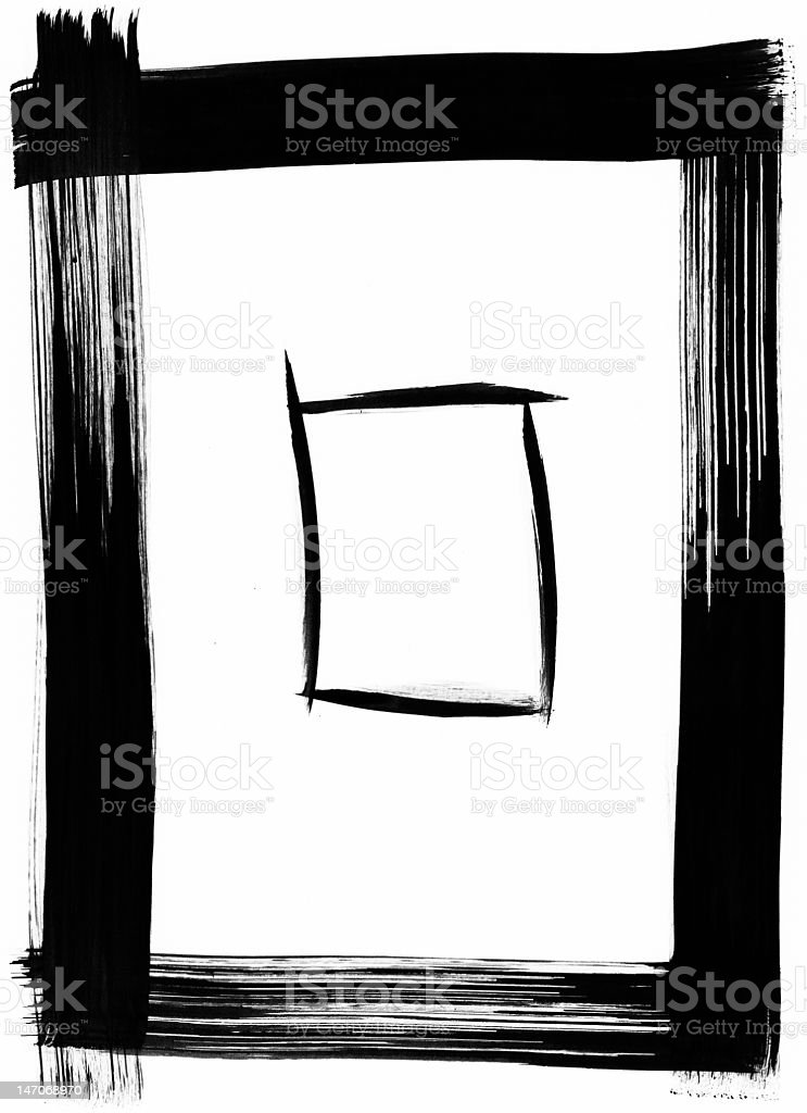 Rectangle Abstract Frame royalty-free stock photo