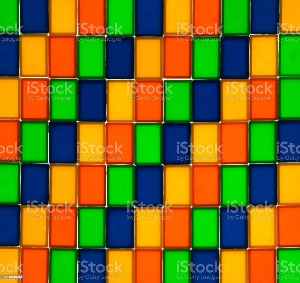 Rectangle Color Pattern royalty-free stock photo