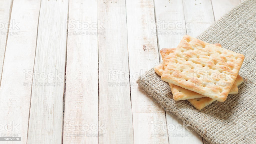 Rectangle crackers stock photo