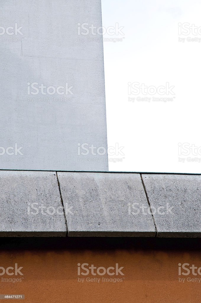Rectangles in architecture royalty-free stock photo
