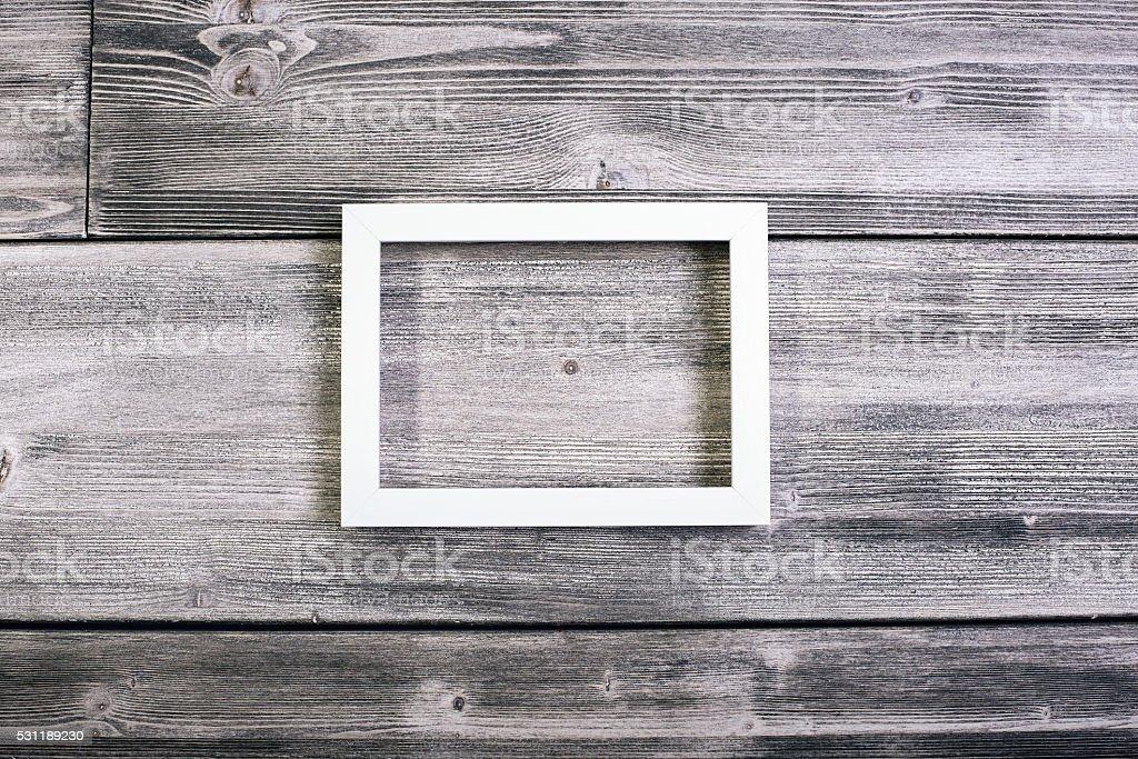 Rectangular frame stock photo